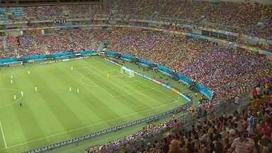Palco do torneio olímpico, Arena AM espera receber jogos do Brasileiro e Seleção - Estádio de Manaus recebeu recentemente a final da Taça Guanabara e semifinal do Carioca. Confira como fica o calendário antes da Olimpíadas.