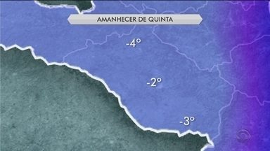 Quinta-feira (28) deve ser de tempo seco e frio em Santa Catarina - Quinta-feira (28) deve ser de tempo seco e frio em Santa Catarina