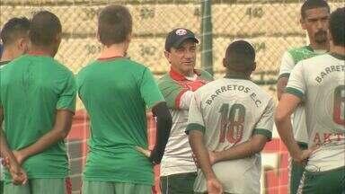 Técnico Vilson Tadei sonha com mais um acesso para a elite do futebol paulista - Tadei comanda o Barretos, que enfrenta neste sábado o Santo André pelo segundo jogo da semifinal da Série A2.