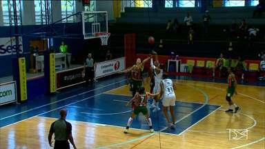 Time de basquete do Sampaio Corrêa vence na Liga Nacional Feminina - Time de basquete do Sampaio Corrêa vence na Liga Nacional Feminina.