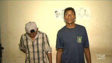 Dois homens suspeitos de falsificação de documentos são presos em Santa Inês - Dois homens suspeitos de falsificação de documentos são presos em Santa Inês.
