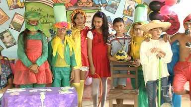 Escola incentiva a leitura por meio de Sarau Literário - Atividade foi realizada pela Escola Nossa Senhora de Guadalupe.
