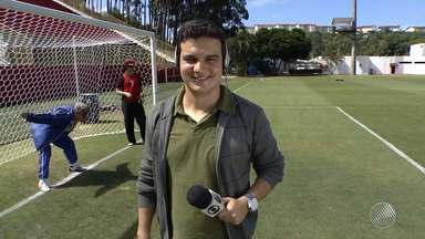 A primeira partida da final do Baianão acontece no Barradão - Confira mais detalhes do jogo com o repórter Renan Pinheiro.