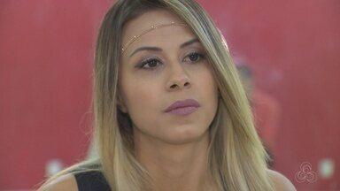 Dançarina amazonense participa da cerimônia da Tocha Olímpica, em Atenas - Ela foi convidada para participar de celebração de acendimento da tocha