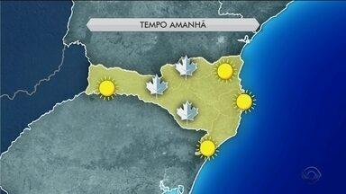 Domingo (1) deve ser de frio, sol e tempo seco em Santa Catarina - Domingo (1) deve ser de frio, sol e tempo seco em Santa Catarina