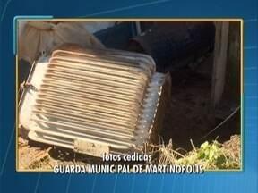 Furto de fios de cobre em transformadores deixa população sem água - Crime aconteceu em equipamentos de poços artesianos, em Martinópolis.