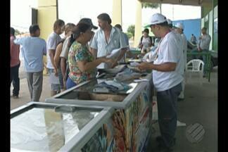 Município de Paragominas recebe Feira do Pescado - Moradores puderam comprar pescado a preços mais baratos.
