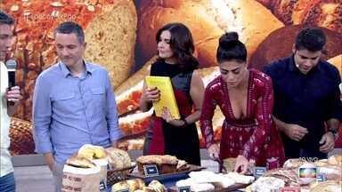 Rusty Marcellini explica a forma correta de saborear o fondue