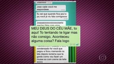 Mães e filhos trocam mensagens hilárias em aplicativo - Ana Maria Braga e Louro José se divertem e interpretam algumas mensagens selecionadas