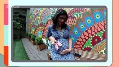 Futuras mamães mandam seus vídeos e participam da abertura do 'É de Casa' - Programa homenageia o Dia das Mães
