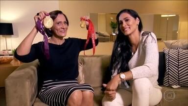 Mães de campeões olímpicos revelam qualidades de seus filhos - Neste domingo de Dia das Mães, as mães de campeões olímpicos revelam qualidades de seus filhos.