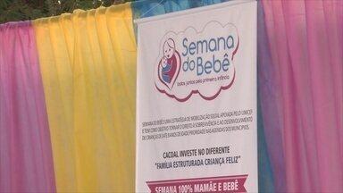 Semana do Bebê é realizada em Cacoal - A atividade é em parceria com o Unicef e órgãos do município.