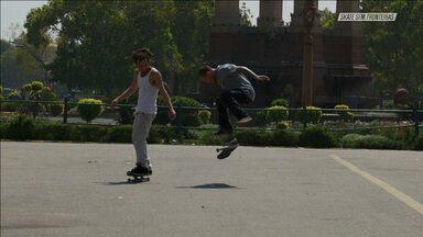 Skate Nas Ruas Da Capital
