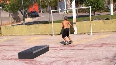 'Skate e arte' - A galera de Alambari manda muito bem no skate e o Anderson lá da turma do 'Skate e arte' tá cheio de prêmios pra provar. Confira esse projeto muito bacana da cidade.