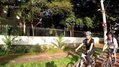 Família usa bicicleta como meio de transporte e lazer - Bicicleta é a saída de uma família paulistana para fugir dos engarrafamentos