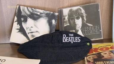 Marcel Graça fala sobre a paixão que tem pelos Beatles - Vocalista da Overtime possui um acervo de CDs, bonés e camisetas de dar inveja a quem curte o som dos meninos de Liverpool.