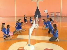 Crianças da região participam de evento esportivo - Elas aprenderam a superar os limites.