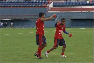 Fortaleza treina para enfrentar o Flamengo pela Copa do Brasil - Jogo acontece nesta quarta-feira, dia 18.
