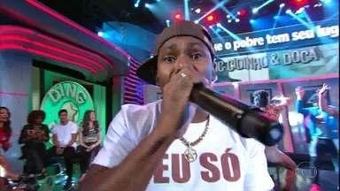 Ana Furtado acerta 'Rap da Felicidade' e pontua para o time do 'É De Casa' - Cidinho e Doca cantam o funk e falam da carreira