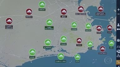 Estações que medem qualidade do ar são desligadas no Rio - As estações que medem qualidade do ar foram desligadas. Apenas as estações do INEA.