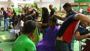 Cepes celebra 20 anos com ações gratuitas de saúde e cidadania em Santarém - Foram realizadas diversas atividades, entre elas, aferição de pressão arterial.