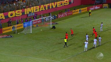 Vitória vence a Portuguesa e se classifica para a próxima fase da Copa do Brasil - Times se enfrentam na noite de quinta-feira (19), no Barradão. Placar da partida foi 3 a 1.