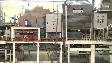 Queda da produção afeta indústrias na região de Londrina - Com menos máquinas funcionando, também aumenta o número de demissões.