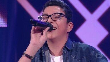Wagner Barreto canta 'Nuvem de Lágrimas' com Chitãozinho & Xororó - Campeão do The Voice Kids canta com seus ídolos