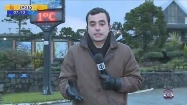 Serra tem expectativa de neve nos próximos dias - Serra tem expectativa de neve nos próximos dias