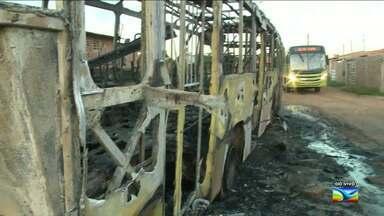 Mais um ataque a ônibus na Região Metropolitana de São Luís, MA - Mais um ataque a ônibus na Região Metropolitana de São Luís (MA). Os criminosos voltaram a agir e assustar a população.