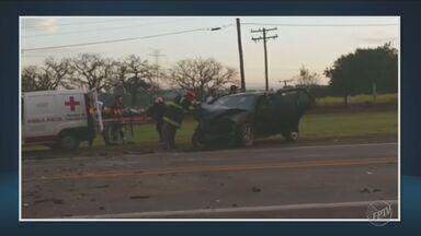 Acidentes causam mortes em rodovias da região - Um deles foi em Vinhedo e o outro em Capivari.