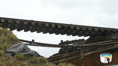 Túnel do Joaquinzão está parcialmente interditado - Motivo é um incidente em uma estrada de ferro próxima ao local.