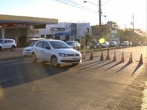 Obras de recapeamento interditam ruas em Presidente Prudente - Avenida Manoel Goulart é uma das vias afetadas.