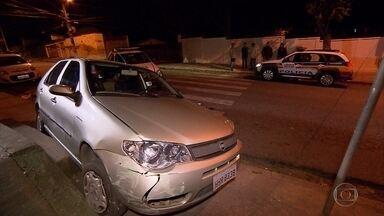 Homem suspeito de assaltar casa em BH é baleado por militar de folga - Roubo a residência foi no bairro Santa Amélia, na Região da Pampulha.