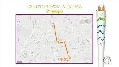 Veja o trajeto da tocha olímpica em MS - Previsão é que tocha chegue ao estado em um mês.
