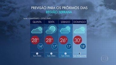 Rio terá tempo instável no feriado prolongado - Nesta quinta-feira (26), o dia começa com muitas nuvens e nevoeiro na Região Metropolitana. Mas, ao longo do dia, o Sol vai aparecer, com clima mais agradável.