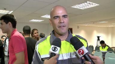Esquema de segurança é montado para receber a tocha olímpica em Alagoas - SMTT irá bloquear vários trechos para a passagem da tocha.