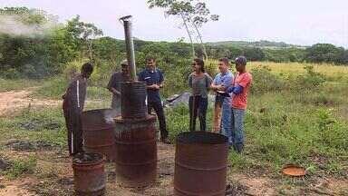 UFS desenvolve projeto do biocarvão para adubação - Desenvolvido pelo Campus Rural da Universidade Federal de Sergipe, o projeto do Biocarvão, adubo produzido com matéria orgânica, em substituição a adubação química do solo.