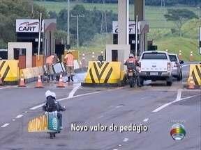 Valor de pedágio em Caiuá tem alta de 30% - Reajuste entra em vigor nesta terça-feira (31).