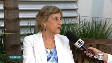 No Dia Mundial sem Tabaco, ação alerta sobre riscos do cigarro - Veja a entrevista com a pneumologista Maria das Graças Rodrigues.
