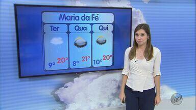 Confira a previsão do tempo para esta terça-feira (31) no Sul de Minas - Confira a previsão do tempo para esta terça-feira (31) no Sul de Minas