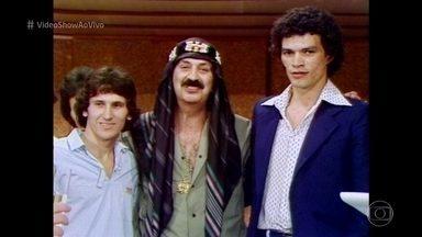 Zico e Sócrates bateram um bolão em 'Feijão Maravilha' - Ídolos do futebol participaram de cena da novela exibida em 1979