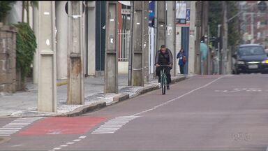 Acidentes envolvendo ciclistas preocupam as autoridades - Só nos primeiros 3 meses desse ano o número de atendimentos em hospitais aumentou mais de 200%.