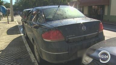 Sete pessoas foram presas acusadas de assaltos em São José - Grupo teria roubado um posto de combustíveis e dois supermercados.