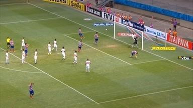 Após empate contra o Bahia, Náutico se prepara para jogo contra o Joinville na Arena - Empate sem gols contra o Bahia foi celebrado pelos jogadores do time alvirrubro.