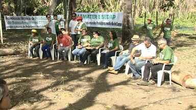Na Semana da Agricultura Orgânica, agricultores aprendem técnicas de produção - Produtores de Mojuí aprenderam técnicas de produção.