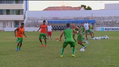 Salgueiro treina forte para enfrentar o ASA - A partida será no domingo, em Arapiraca.