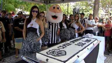 Ceará Sporting Club completa 102 anos e dá vitória à torcida como presente - Ceará venceu o Goiás por 2 a 1 na Arena Castelão na terça-feira (31).