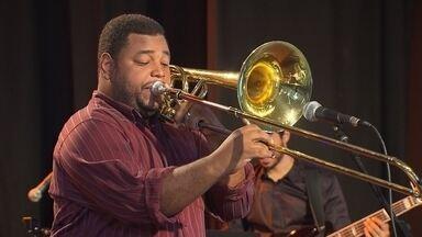 Trabalho de Leonardo Brasilino tem trombone como protagonista - Instrumentista mineiro é destaque no Globo Horizonte deste domingo (5).