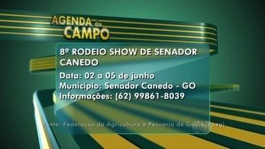 Confira a agenda do campo para esta semana em Goiás - Termina neste domingo (5) a 8° edição do Rodeio Show de Senador Canedo.